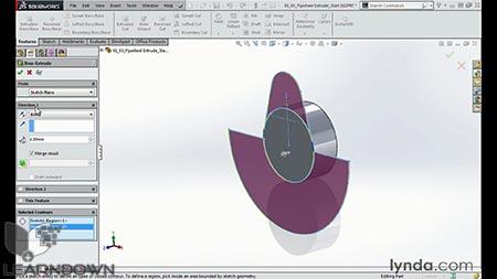 دانلود آموزش مدل سازی انجین موتور سیکلت در سالیدورک | Modeling a Motorcycle Engine with SOLIDWORKS 2