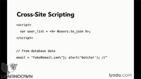 دانلود آموزش مبانی برنامه نویسی : امنیت وب | Programming Foundations: Web Security 2