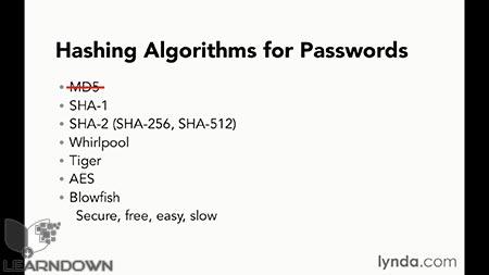 دانلود آموزش مبانی برنامه نویسی : امنیت وب   Programming Foundations: Web Security 3