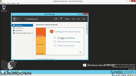 دانلود آموزش ویندوز سرور 2012 : تنظیمات پایه میکروسافت سرویس | Windows Server 2012: Configure Basic Microsoft Services 3