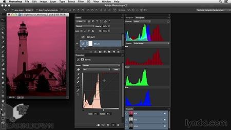 دانلود آموزش اصلاح رنگ در فتوشاپ: پوشش رنگی تیره | Photoshop Color Correction: Dark Color Cast 2