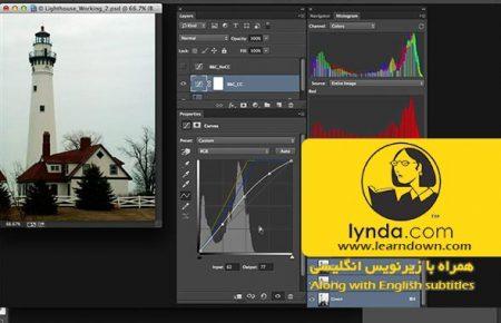 دانلود آموزش اصلاح رنگ در فتوشاپ: پوشش رنگی تیره | Photoshop Color Correction: Dark Color Cast