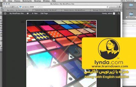دانلود آموزش ساخت گالری تصاویر در وردپرس به وسیله جی کوئری | Creating a Photo Gallery in WordPress with jQuery