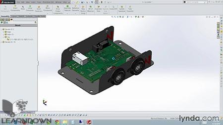 دانلود آموزش طراحی محفظه فلزی در سالیدورک | Designing a Sheet Metal Enclosure with SOLIDWORKS 3