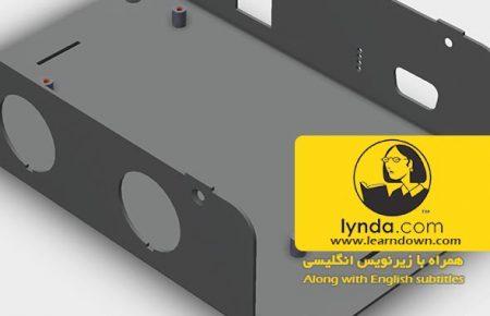 دانلود آموزش طراحی محفظه فلزی در سالیدورک | Designing a Sheet Metal Enclosure with SOLIDWORKS