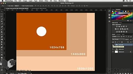 دانلود آموزش فتوشاپ برای طراحی وب| Photoshop CC for Web Design 2