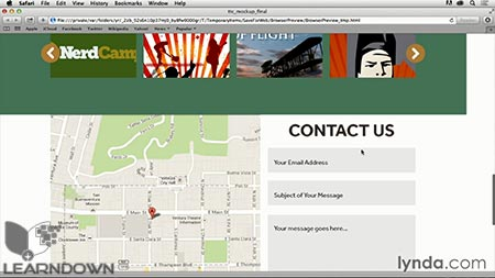 دانلود آموزش فتوشاپ برای طراحی وب| Photoshop CC for Web Design 3