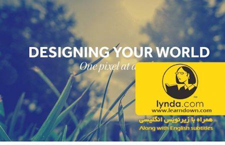 دانلود آموزش فتوشاپ برای طراحی وب| Photoshop CC for Web Design