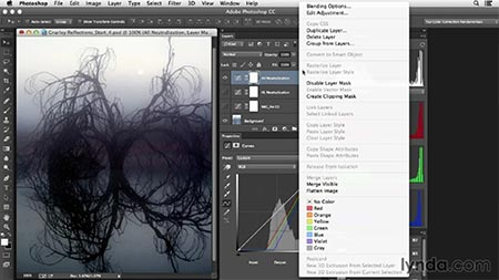 آموزش اصلاح رنگ در فتوشاپ: تنظیمات مد هوشمند | Photoshop Color Correction: Creative Mood Adjustments 3