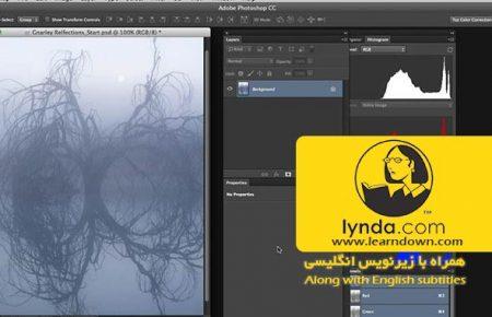 آموزش اصلاح رنگ در فتوشاپ: تنظیمات مد هوشمند | Photoshop Color Correction: Creative Mood Adjustments