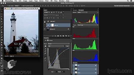 آموزش اصلاح رنگ در فتوشاپ: پوشش رنگی شدید | Photoshop Color Correction: Extreme Color Cast 3