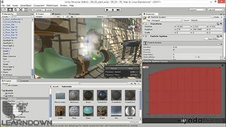 دانلود آموزش یونیتی 5 : سه بعدی | Unity 5: 3D Essential Training