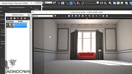 دانلود آموزش وی ری 3 برای تری دی استدیو مکس | V-Ray 3.0 for 3ds Max Essential Training 3