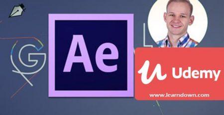 دانلود آموزش تایپوگرافی در افترافکت | After Effects Beginner - Typography Reveal in After Effects