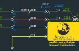 دانلود آموزش اتوکد الکتریکال | AutoCAD Electrical Essential Training