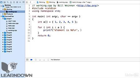 دانلود آموزش سی پلاس پلاس | C++ Essential Training 2