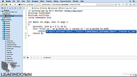 دانلود آموزش سی پلاس پلاس | C++ Essential Training 3