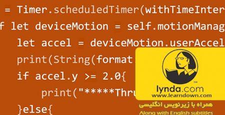 دانلود آموزش پیشرفته توسعه IOS : حرکت هسته | Advanced iOS App Development: Core Motion