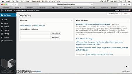 دانلود آموزش ساخت سایت چندگانه وردپرس | Set Up WordPress Multisite 2