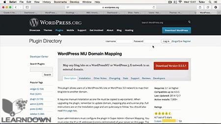 دانلود آموزش ساخت سایت چندگانه وردپرس | Set Up WordPress Multisite 3