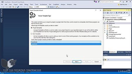 دانلود آموزش ویژوال استدیو : 08 توسعه و سفارشی سازی محیط ویژوال استدیو | Visual Studio Essential Training: 08 Extend and Customize the Visual Studio Environment